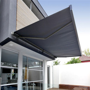 High Strength Aluminium Alloy Waterproof retractable Awning and Canopies