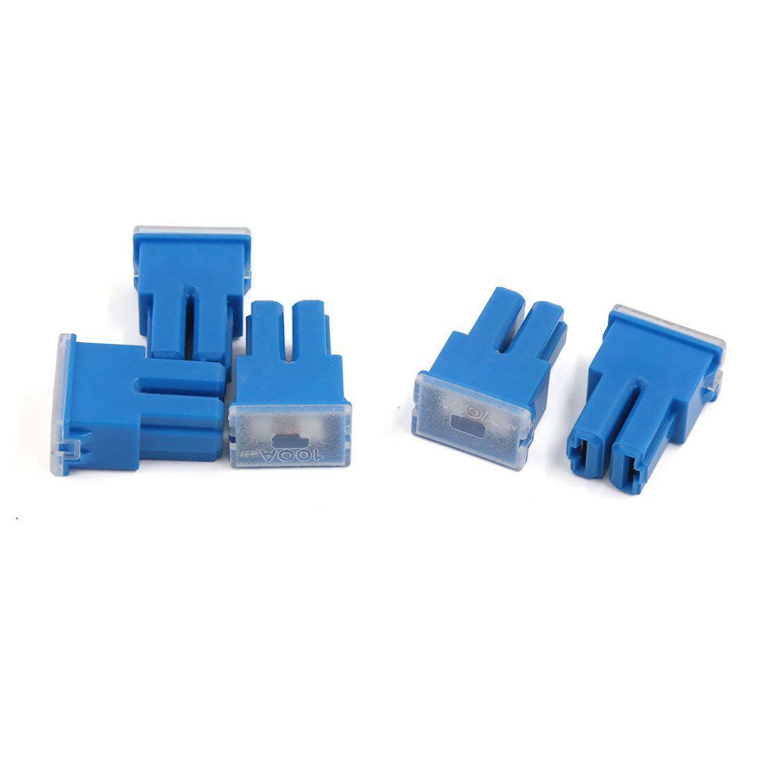 uxcell Automotive Mini Cartridge Fuse 32V 30A Female Terminal for Car Truck Vehicle 5pcs