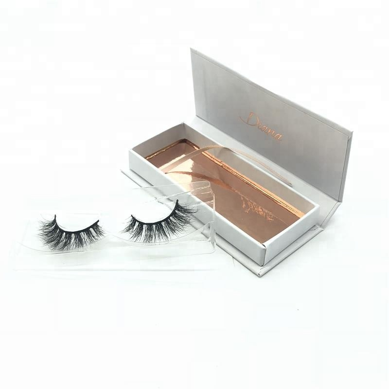 Wholesale Private Label 100% Real Silk Fiber 3D Faux Mink False Eye Lashes