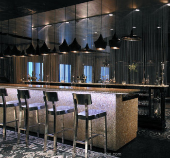 Five Star High End Luxury Modern Home Wine Bar Counter Design