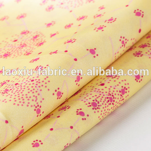 quilted satin mattress 100% jacket lining fabric
