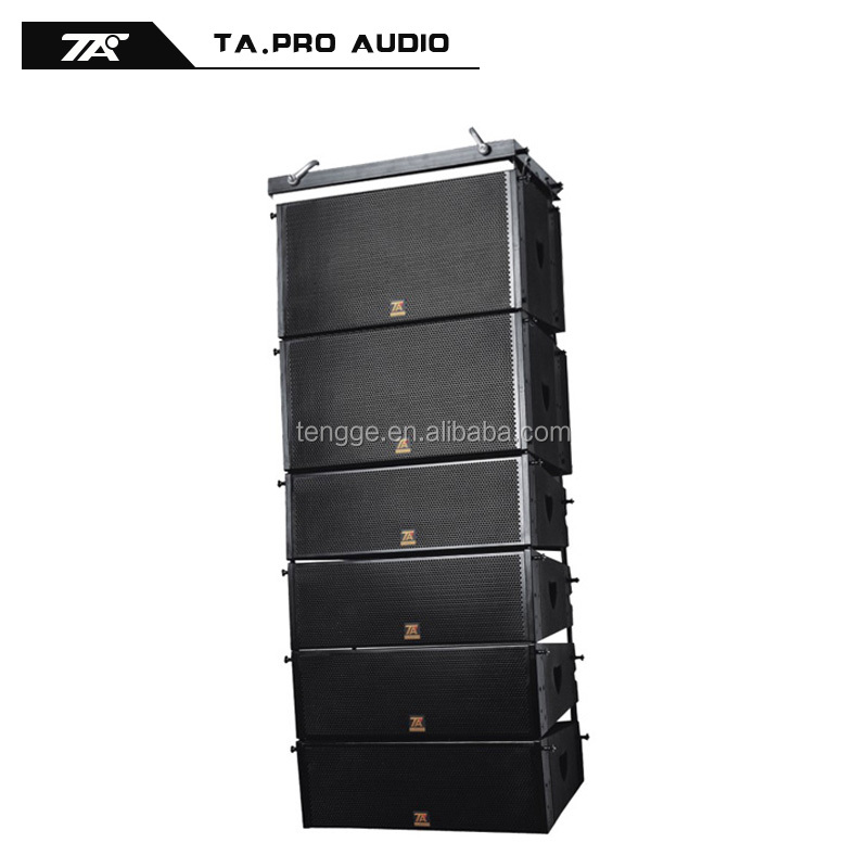 China factory price double 10 stage q1 line array active speakers