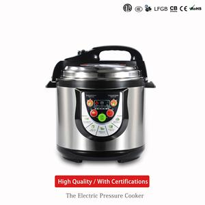 Chinese supplier high quality low price 5l/6l non-sthick coating computer heating electric Pressure cooker