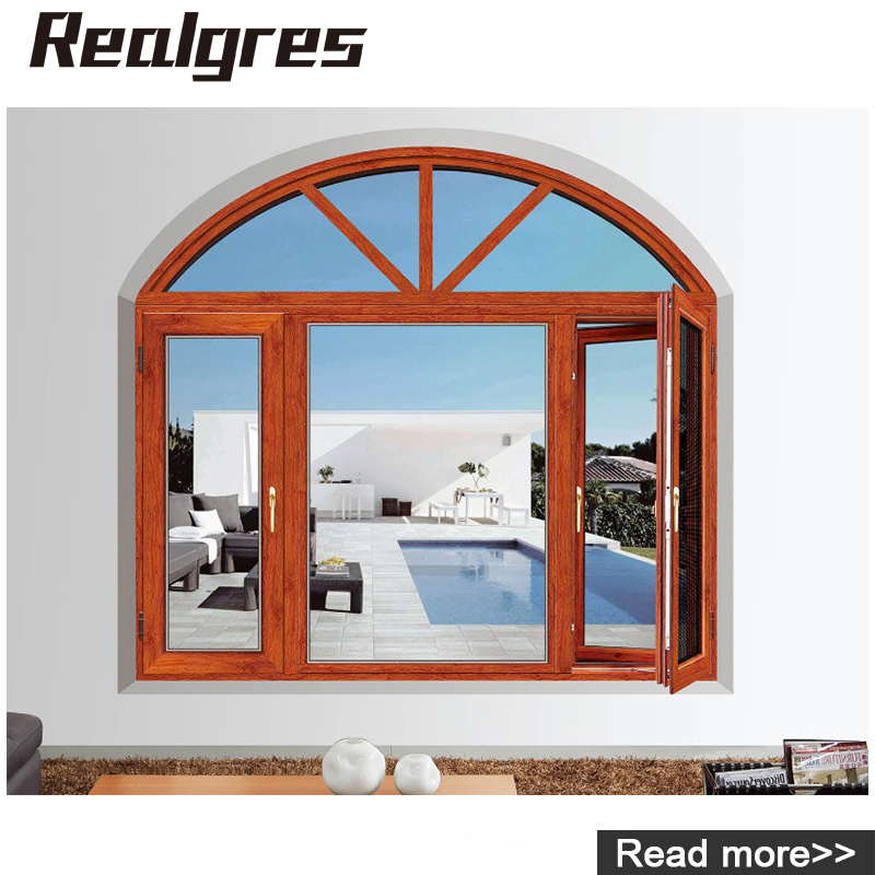Aw-008 French & Used Top Baodu Aluminium Folding Door Windows ...