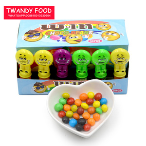 30pcs w&m mini colorful sweet chocolate beans in display box