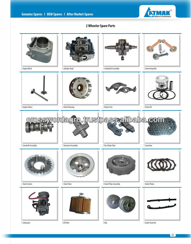 Bajaj Original Spare Parts, Bajaj Original Spare Parts Suppliers and ...