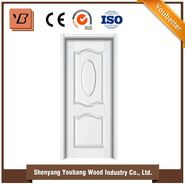 designer MDF internal hospital doors / modern bedroom interior door design