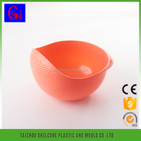 High Performance-price Food Grade Washing Drain Picnic Plastic Basket