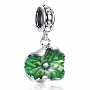 Tryme jewelry18P230-C mini fashion style wholesale charms 925 sterling silver enamel for jewelry making