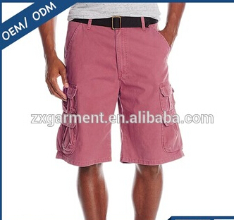 Custom made high quality twill cotton cargo shorts Wholesale customized mens shorts