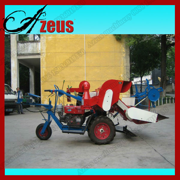 Hot Selling Mini Rice Wheat Combine Harvester 0086 15036019330