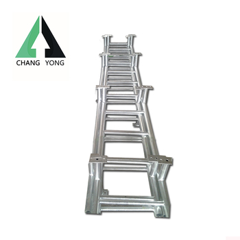 Quality assured aluminium stair industrial ladders