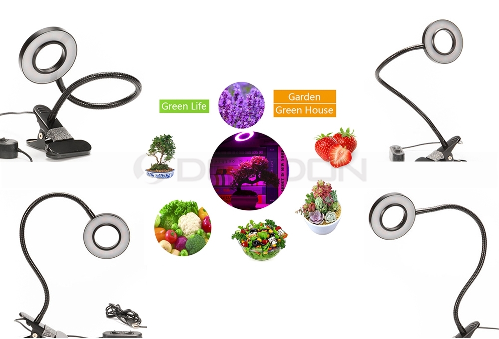 Low Power Consumption Plant Grow Lights Dimmable Grow Lamp