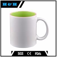 250ml/10oz blank coffee mugs wholesale white