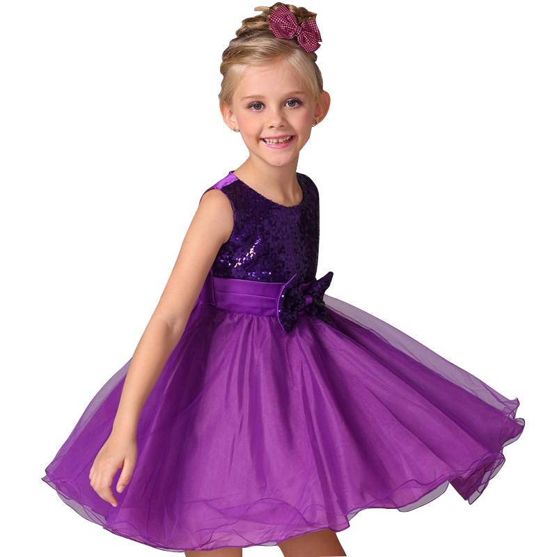Nuevo estilo a-line niños disfraces vestido flor chica fiesta de ...