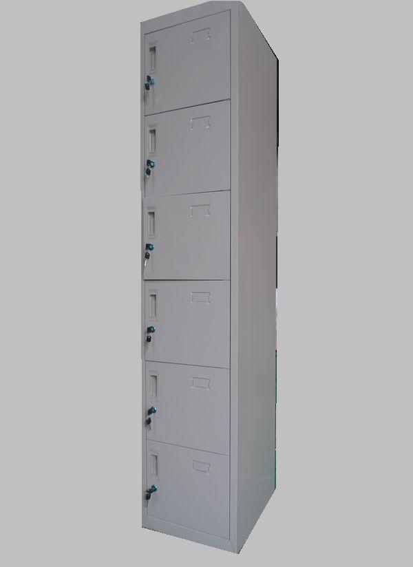 lysb stalen metalen locker kast/6 openingen smalle kast-andere metalen ...