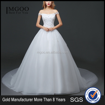Mgoo 2017 New Style Romantic Church Wedding Dress First Night Lace ...