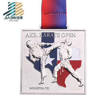 Customizable marathon 3d silver sports framing medals manufacturer