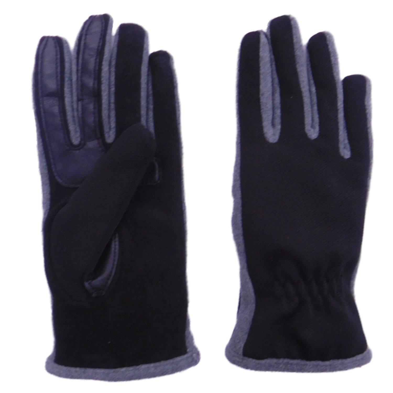 Isotoner Smart Touch  Womens Pink Fleece Unlined Smartouch Text /& Tech Gloves