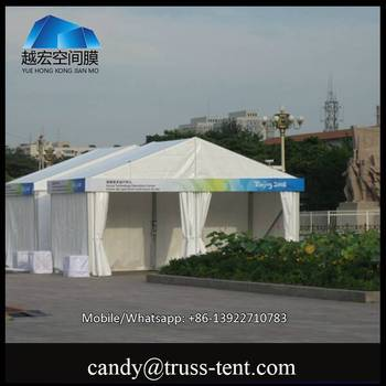 20m by 50m A-shaped tent with white pvc sidewall for Luxury party & 20m By 50m A-shaped Tent With White Pvc Sidewall For Luxury Party ...