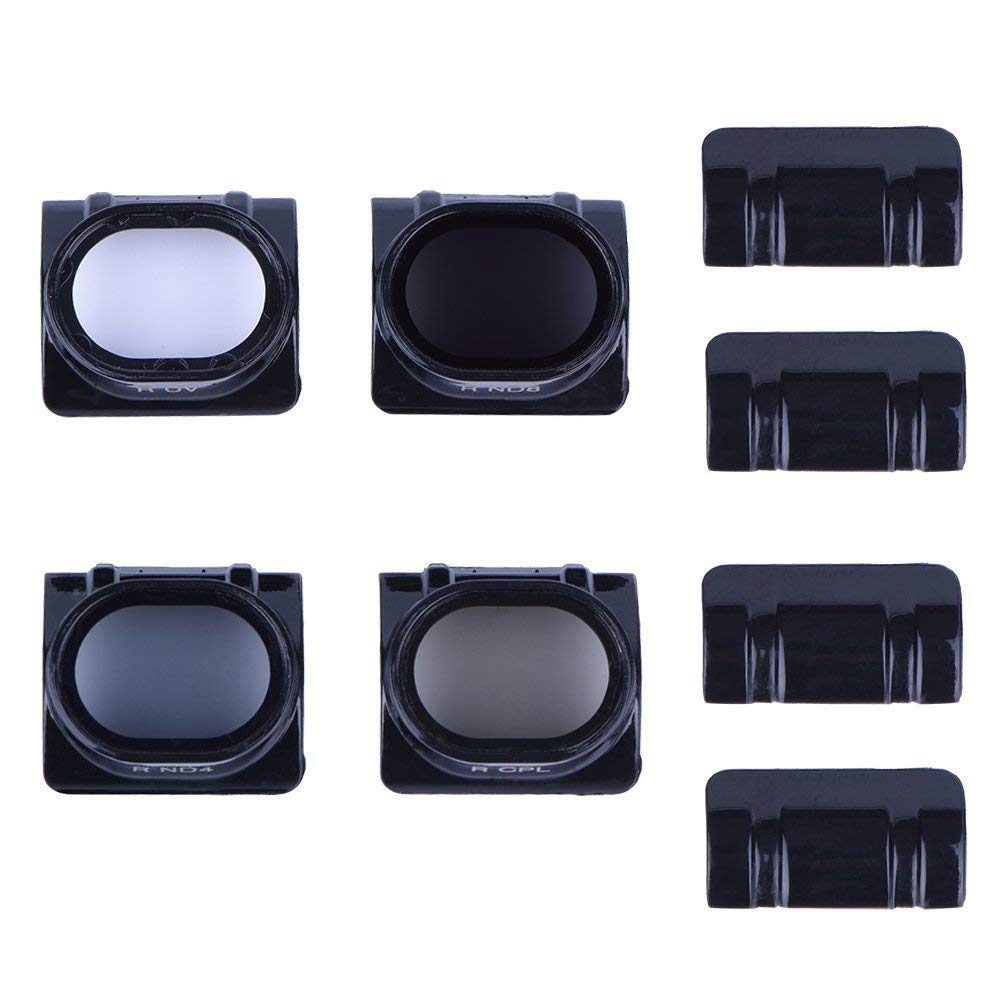 ND8 ND16 6-Pack QKOO ND CPL Filter Kit for GoPro Hero 7 Black//Hero ND32 ND4 //Hero 6 Black//Hero 5 Black ND64 Lens Filter - Neutral Density /& Circular Polarizer Lens Filters Set 2018 CPL