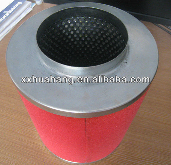 Sponge active carbon air strainer, air filter cartridge