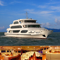 49.8m Steel /fiberglass luxury cruise ships for sale(JL4980)