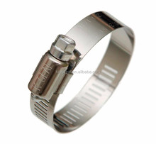 Hot Sale Adjustable American Stainless Steel Type Hose Clamp (3 Inch) for Pipe Fitting