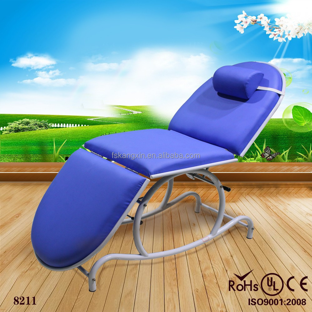 HOT sale PU leather massage facial bed beauty salon equipment KM-8211