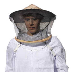 profession 100%cotton bee protective hat with veil /beekeeping hat/protective hat from bees