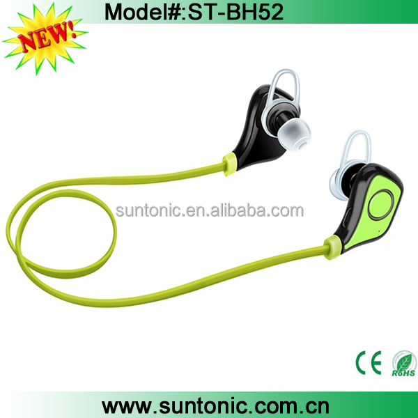 Stereo Wireless Bluetooth 4.0 Sport Earphones Running Headphones Headset with Mic Hands-free Calling for iPhone 6s , 6s