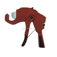 Manual Aluminum Body Ratchet Hinged Rotary Portable Large PVC Plastic Rubber Pipe Cutter