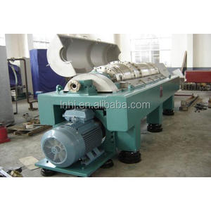 waste water sludge dewatering used 3 phase decanter