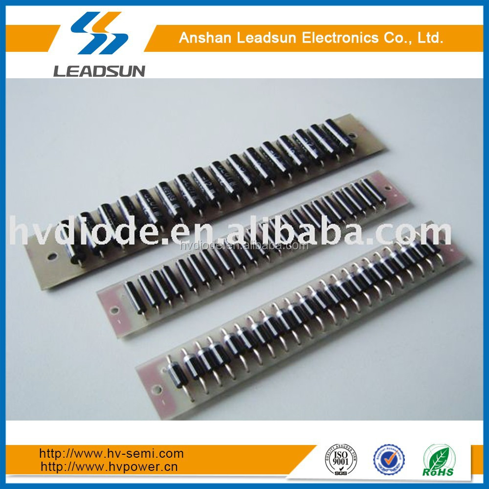 High voltage power board 2CLZ150KV/0.1A diode rectifiers silicon assembly