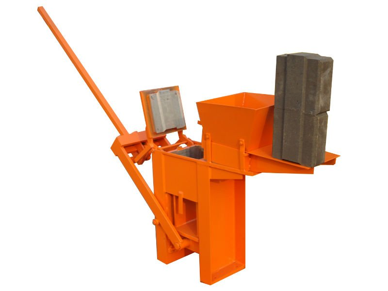 Manual Brick/Block Making Machine /Clay/Soil/Mud/Earth Interlocking