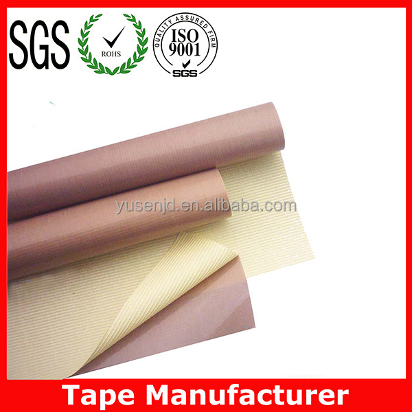 High temperature silicone PTFE fiberglass insulating tape ISO SGS Certified