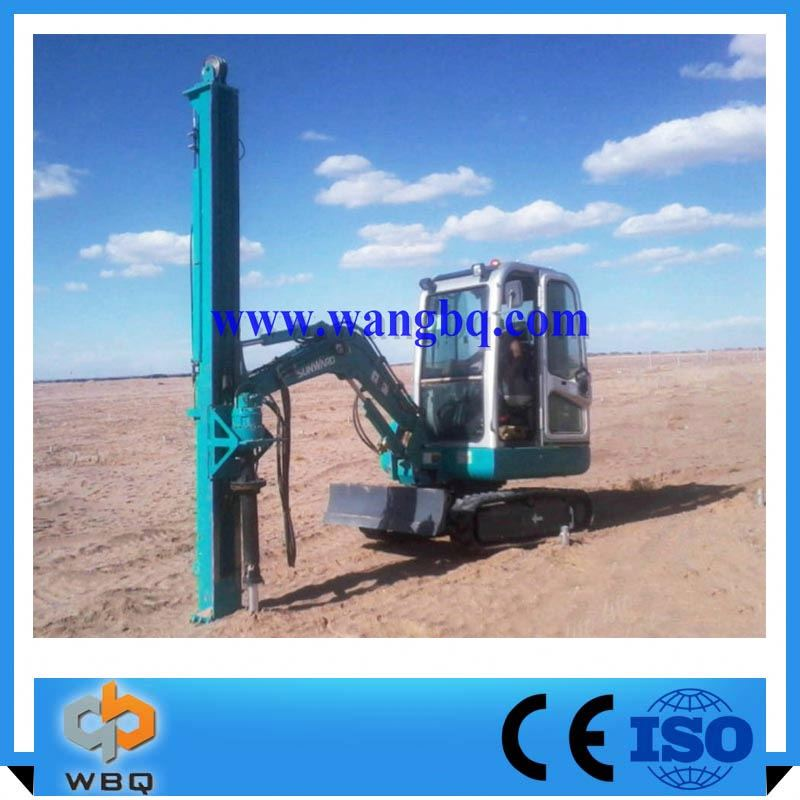 Quick Delivery China Products ground screw solar pile driver machine spiral drill for ground anchors