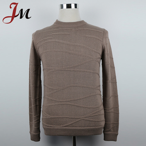 Custom Sweaters Men top quality acrylic pullover sweater plain color nice sweater for men