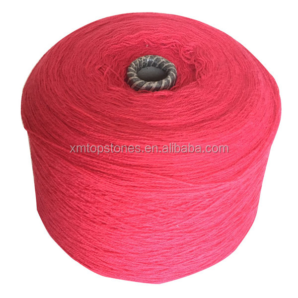 100% acrylic knitting yarn 28s/2 dope dyed acrylic yarn for fabric