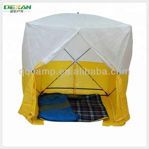 Pop up outdoor work tent
