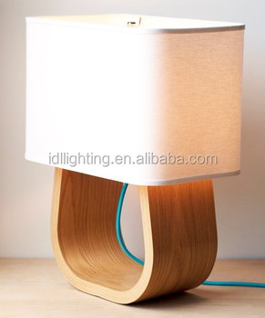 Small Table Lamp,Vintage Wood Table Lamp,Bedside Table Lamp - Buy ...