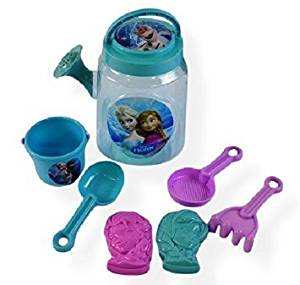 What Kids Want Frozen Watering Can with Sand Toys