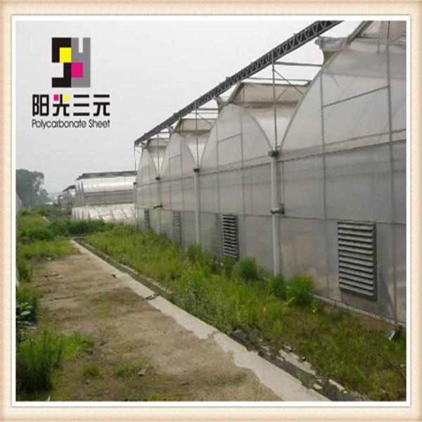 Agriculture polycarbonate greenhouse for sale