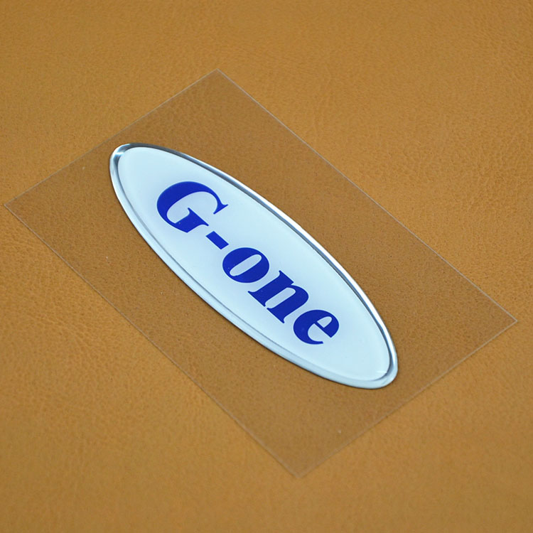 Accept Custom Order 3M Adhesive Wholesale Resin Sticker