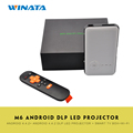 Android OS DLP Led Projector WVGA WiFi BT4 0 Mini Projector HDMI Output IR Beamer