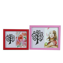 Wholesale China factory 4x6 5x7 6x8 8x10 Wooden effect PS MDF A1 A2 A3 A4 size picture photo frame