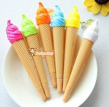 New fashion kawaii korean stationery Sweet candy color ice cream gel pen student neutral pen Office&school pen wholesale PN3355