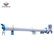 Wood Industry Rotary Dryer Sawdust Rotary Drying Equipment