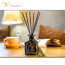 black reed stick and macrame scented diffuser whole set