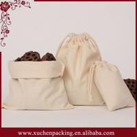 Bulk Printing Drawstring Unbleached Natural Wholesale Muslin Tea Bag Made In China